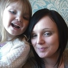 Louise, baby sitting - EH47 Blackburn